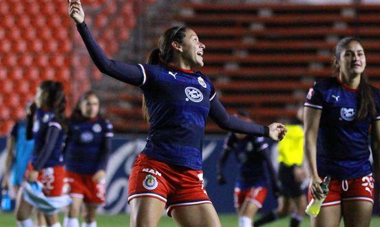 Norma Palafox chivas goleadora