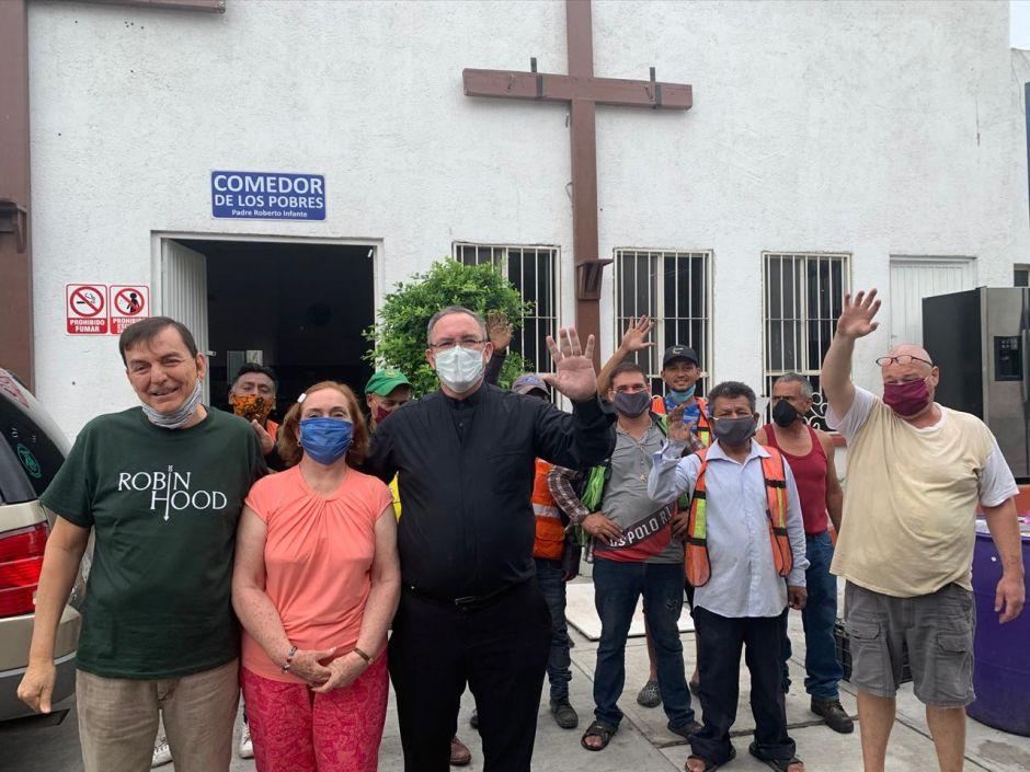 Padre Felipe de Jesús en Monterrey, frontera con EEUU.