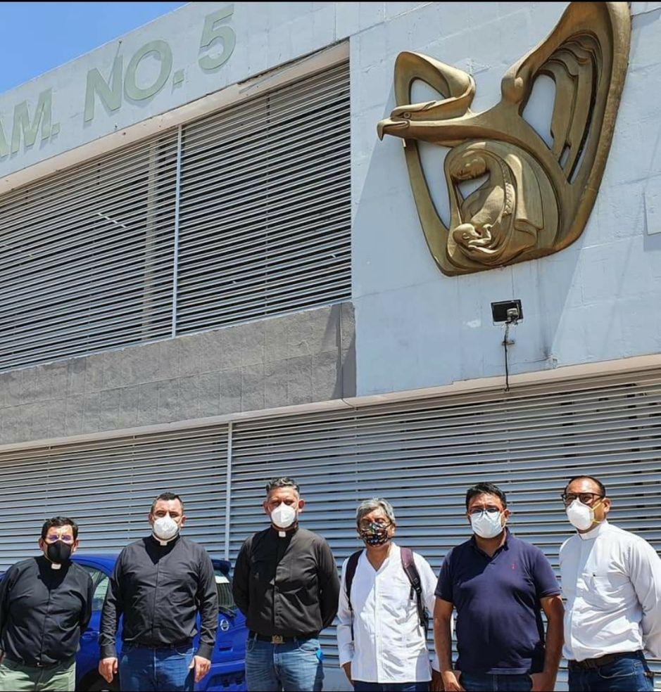 Sacerdotes de apoyo a Covid en Cuernavaca