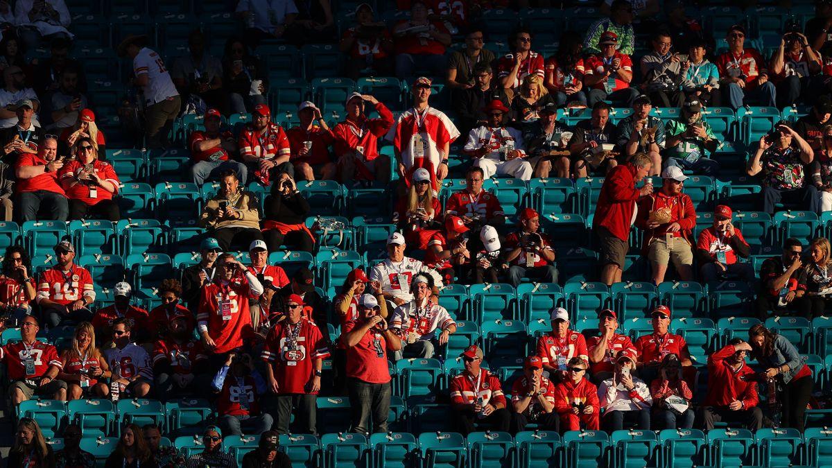 NFL planea que el Super Bowl se juegue con 20% de aficionados