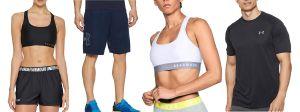Las mejores prendas y zapatos Under Armour para entrenar en casa