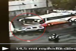 VIDEO: Captan momento en que funcionario es asesinado por motosicarios
