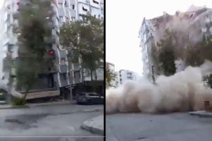 VIDEOS: Fuerte terremoto sacude Grecia y Turquía, se registran varios derrumbes