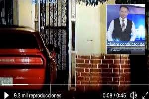VIDEO: Matan de 11 balazos a conductor de noticias mexicano; ésta es la escena del crimen