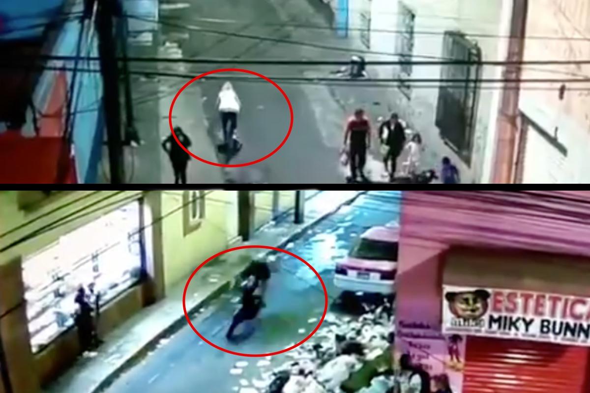 VIDEO: Momento exacto en que sicarios matan a hijo de presunta narcotraficante