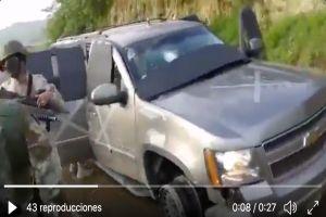 VIDEO: Sicarios de la Tropa del Infierno del Cártel del Noreste quedaron así tras atacar a soldados mexicanos