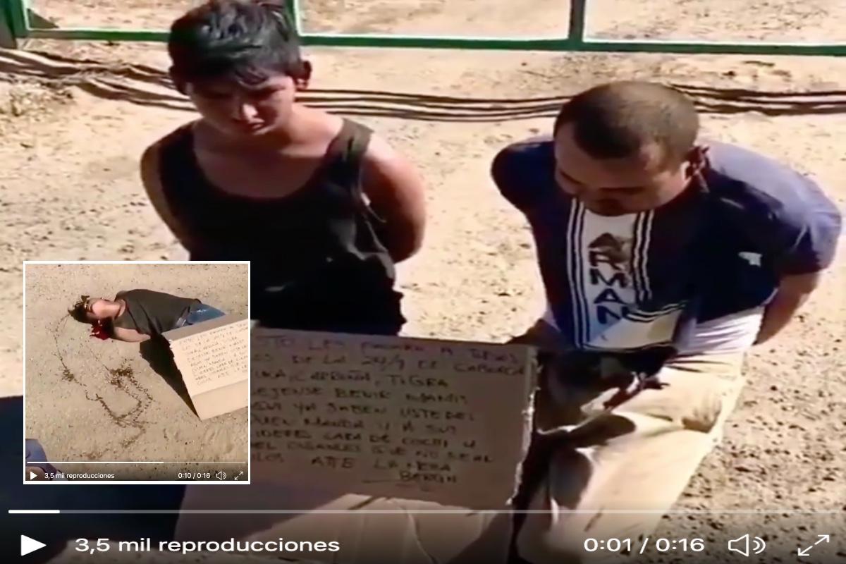VIDEO: Sicarios ejecutan con tiros en la cabeza a supuestos operadores de Caro Quintero