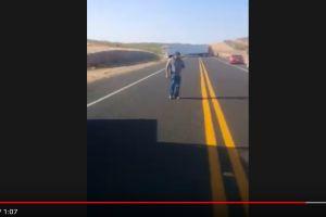 VIDEO: Trailero denuncia cómo sicarios de Caro Quintero lo atacaron