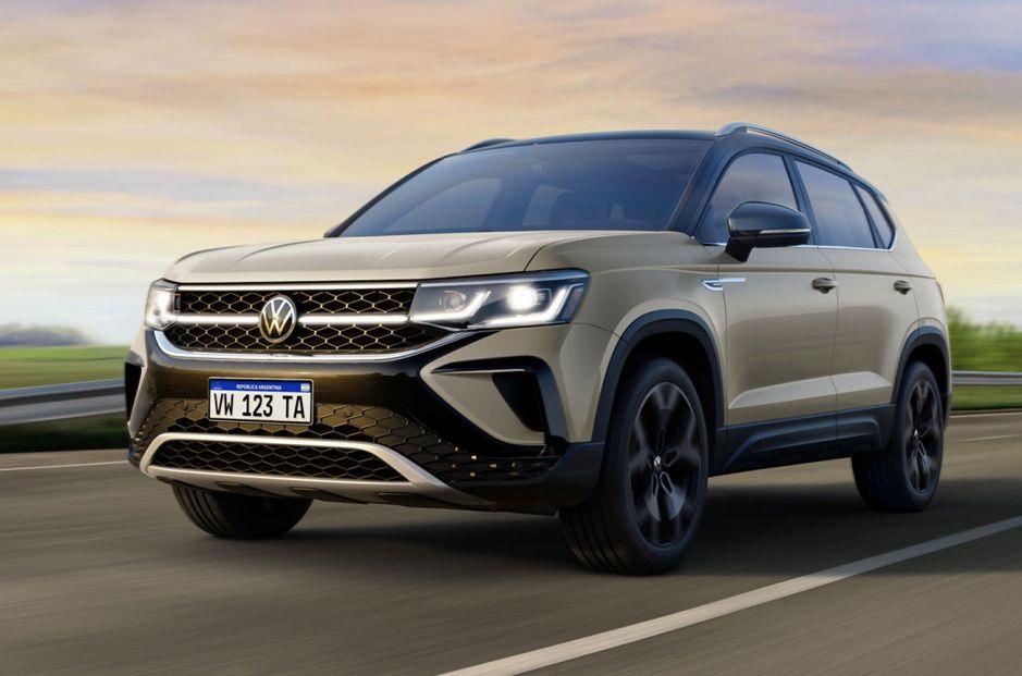 Taos: el nuevo SUV de Volkswagen al descubierto