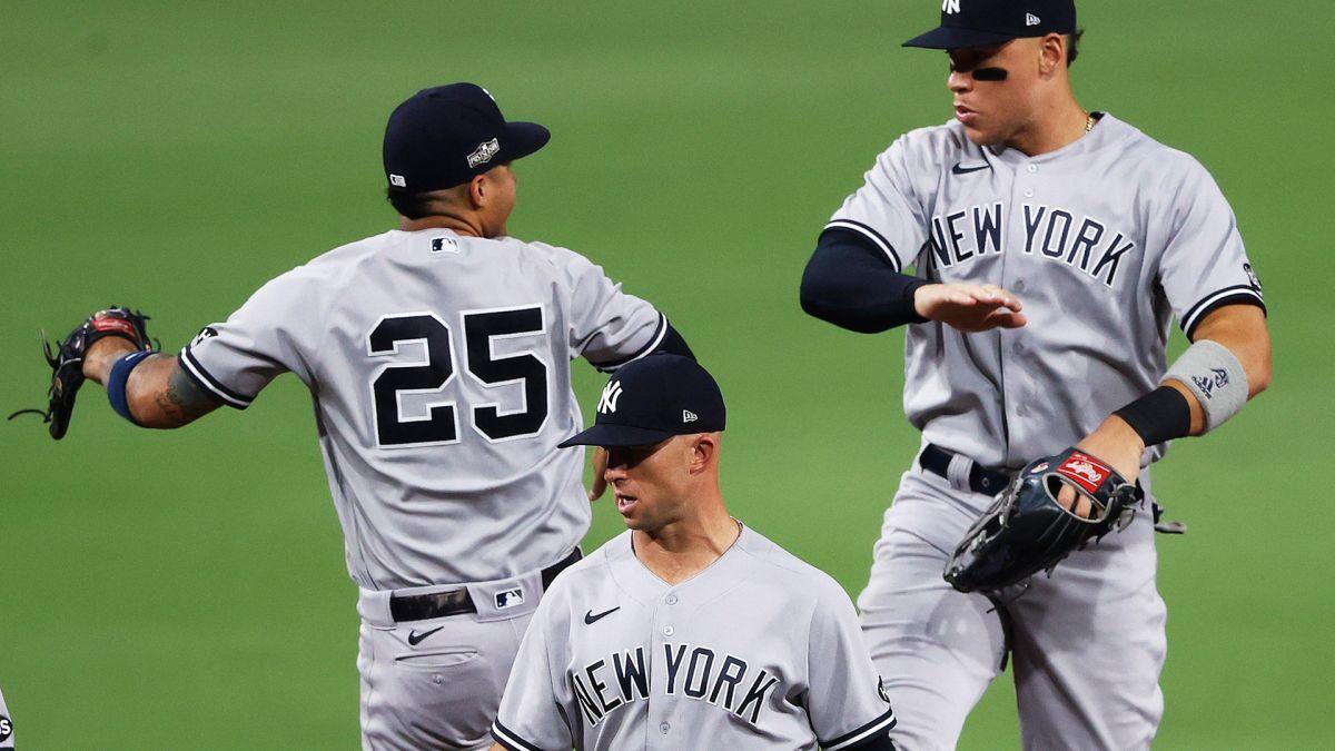 Yankees inician ganando su serie ante Rays