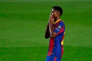 Sigue rompiendo récords: Ansu Fati, el más joven en marcar en un Clásico