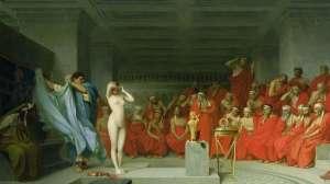 La cortesana de la Antigua Grecia que se desnudó para salvar su vida