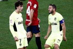 Gran exhibición de Joao Félix, Héctor Herrera y el Atlético de Madrid ya es tercero en La Liga