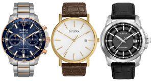 Los mejores diseños de relojes Bulova para hombres elegantes y modernos