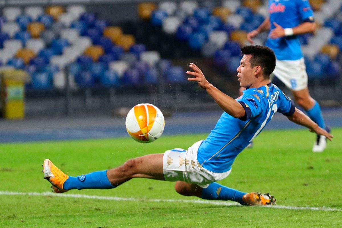 """El """"Chucky"""" Lozano está regenerado en el Napoli, pero Gattuso piensa que puede dar mucho más"""