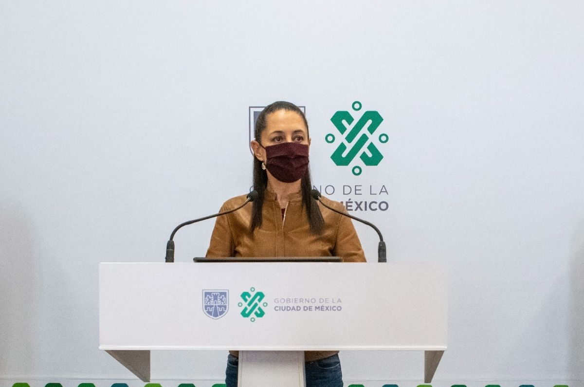 Claudia Sheinbaum, alcaldesa de la Ciudad de México tiene coronavirus