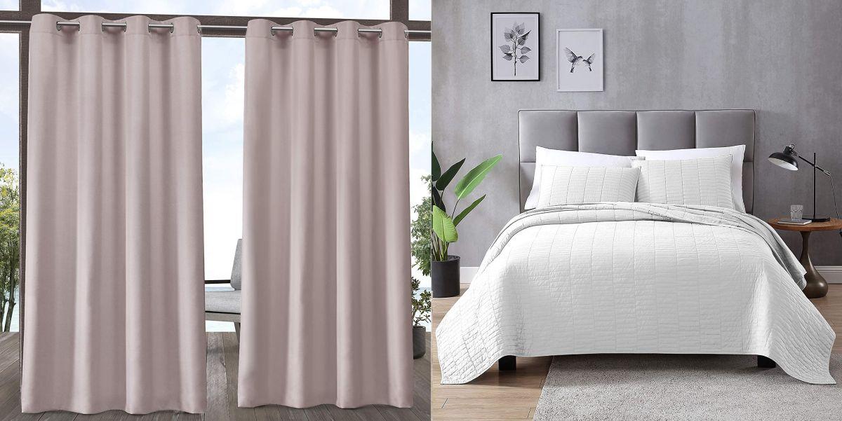 Prime Day de Amazon: Mira la variedad de ropa de cama y cortinas para tu habitación en oferta