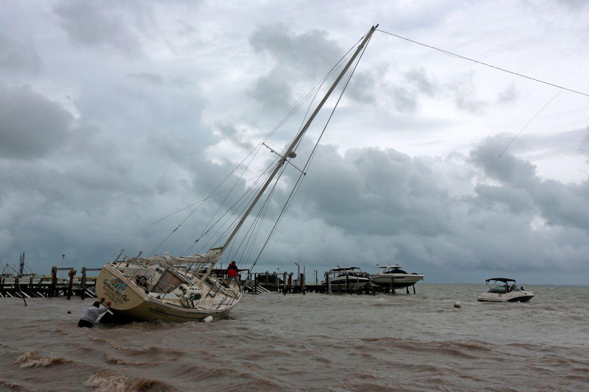 Tormenta tropical Gamma afecta a México con fuertes lluvia y vientos