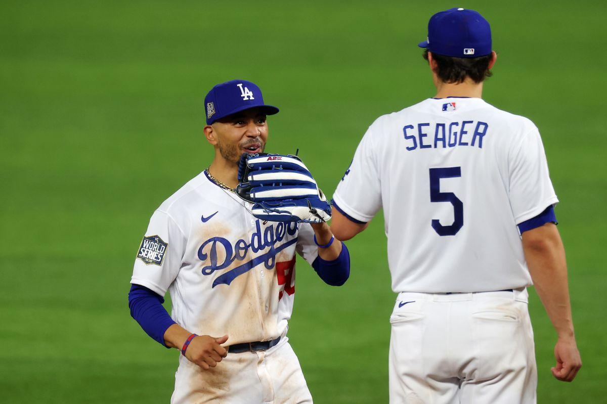 Dodgers da paliza a Rays en el primer juego de la Serie Mundial