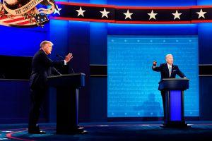 Joe Biden se hará la prueba de coronavirus tras estar cerca de Trump en el debate y sin mascarillas