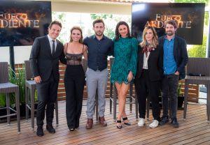 Televisa presenta al elenco de 'Fuego Ardiente', su nueva telenovela estelar