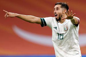 Héctor Herrera le mandó un mensaje a Diego Simeone al finalizar el partido del Tri