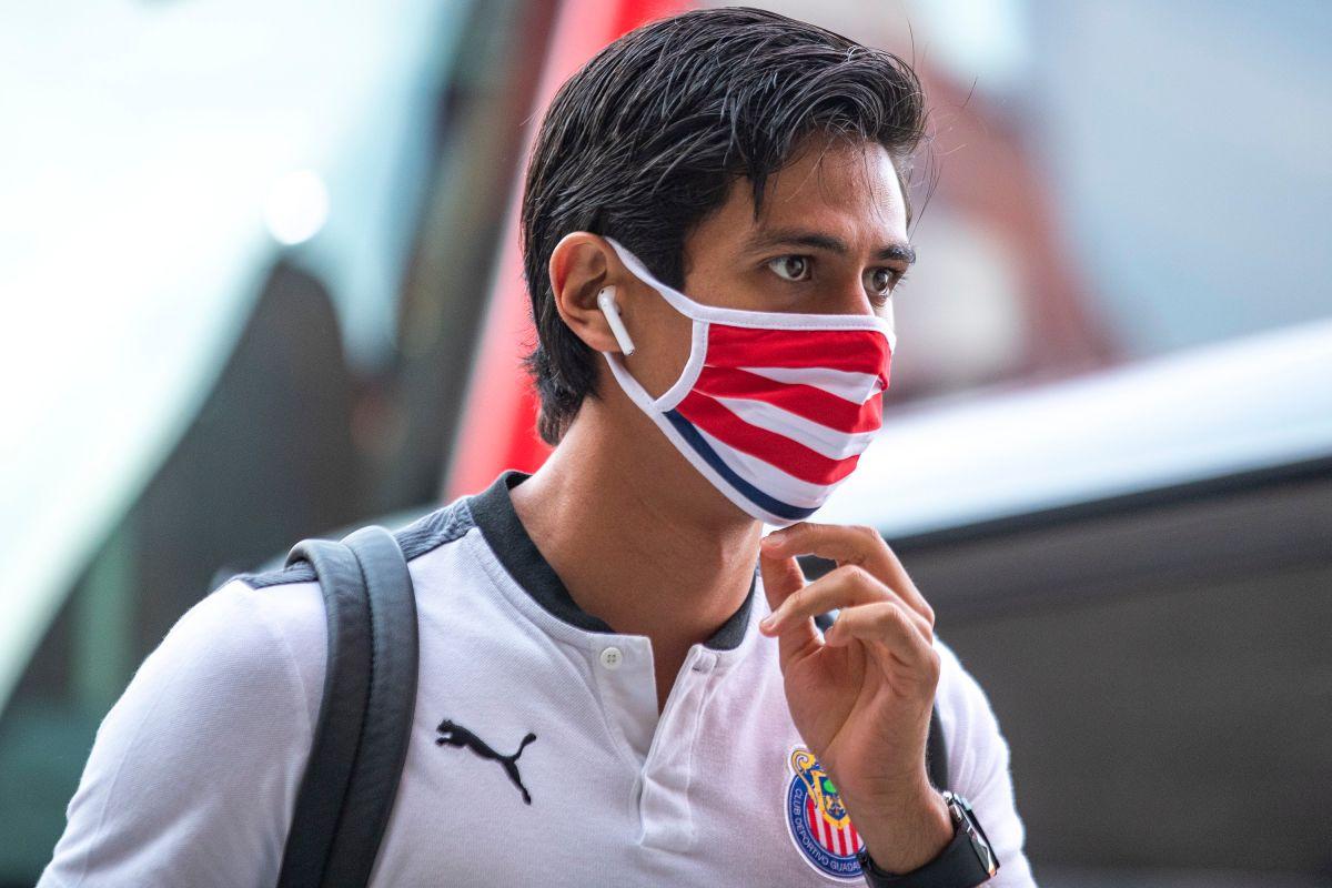 José Juan Macías, delantero de Chivas.