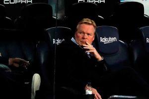 """Ronald Koeman se resigna ante la falta de fichajes: """"Estoy contento con la plantilla que tenemos"""""""