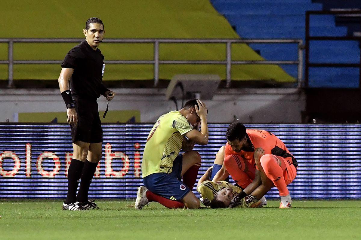 El triste mensaje de Santiago Arias tras su brutal lesión al inicio de las eliminatorias mundialistas
