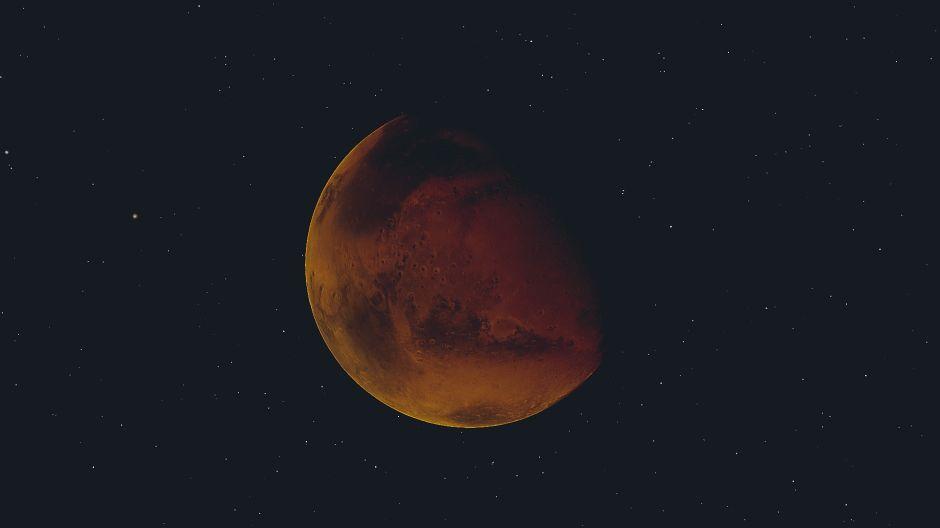 La Luna de Cosecha de este año trae compañía: el planeta Marte