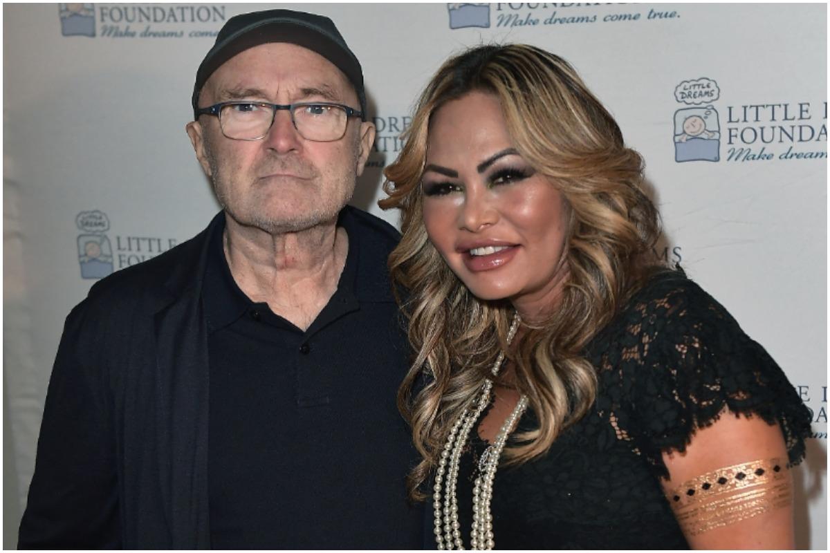 Orianne Cevey ya contrató cuatro hombres armados ante las amenazas de ser echada por Phil Collins.