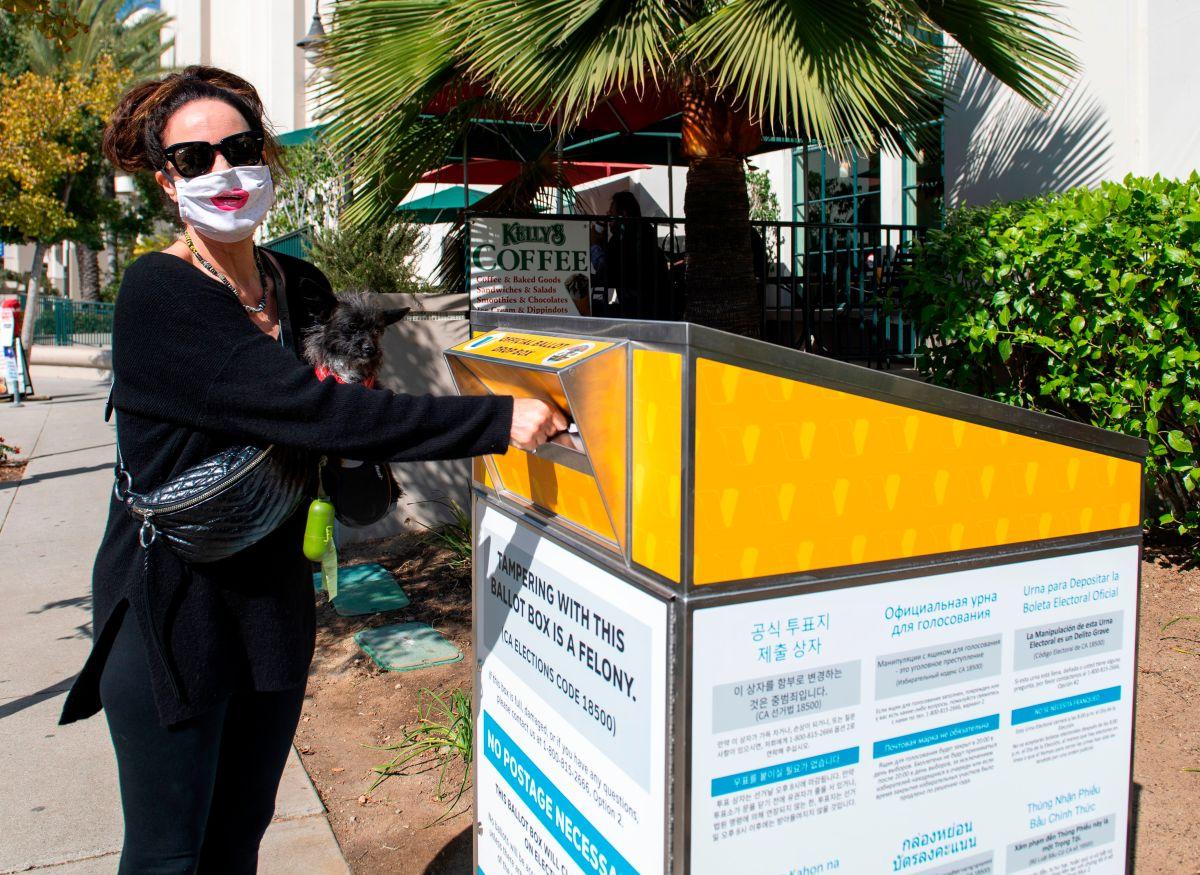 Los votantes participan en masa en LA y en California