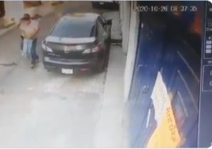 VIDEO capta presunto intento de secuestro de un menor en la CDMX