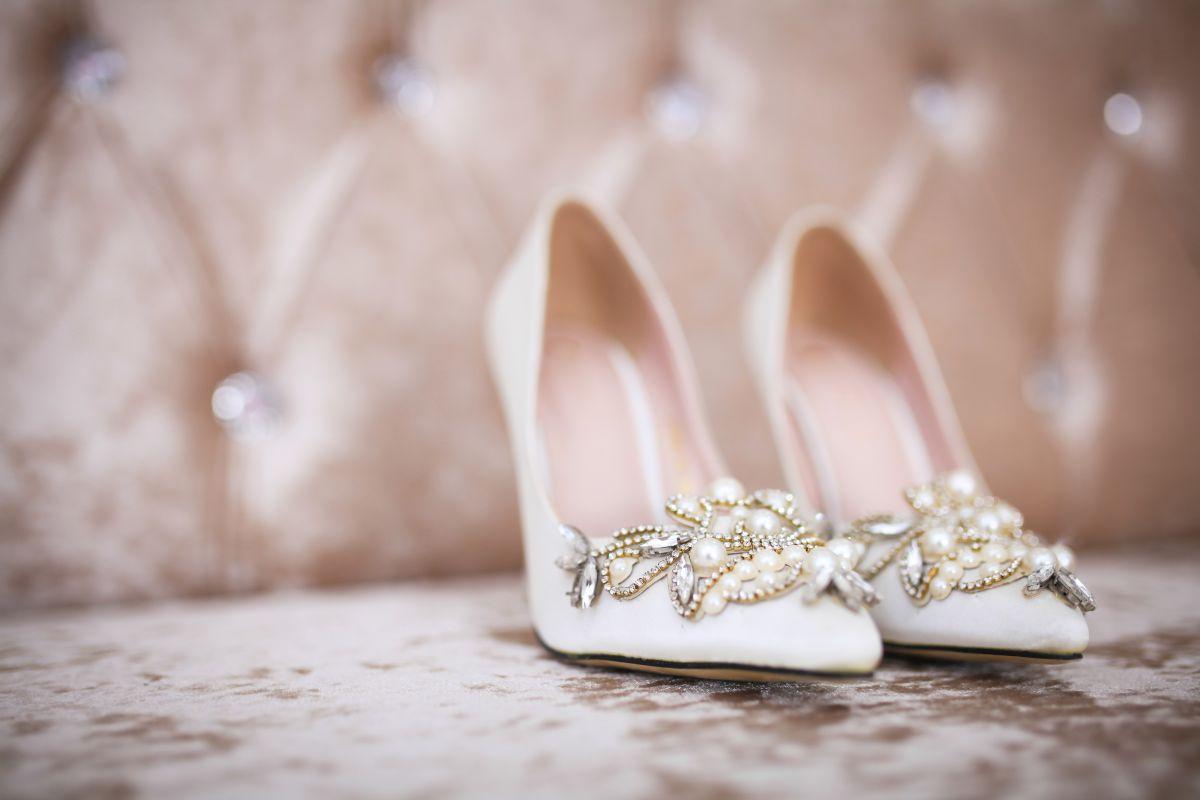 5 estilos de zapatos de novia versátiles para usar con cualquier diseño de vestido