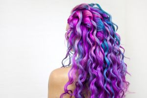 Tintes de cabello temporales para usar este Halloween 2020