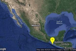 Sismos de 5.5 sacuden las costas de Chiapas