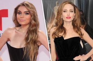 Se burlan y tachan de ridícula a Sofía Castro por aparentemente copiarle a Angelina Jolie