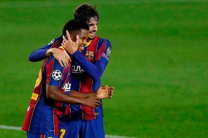 Trámite saldado: el Barcelona ganó con claridad y goleada su debut en Champions League