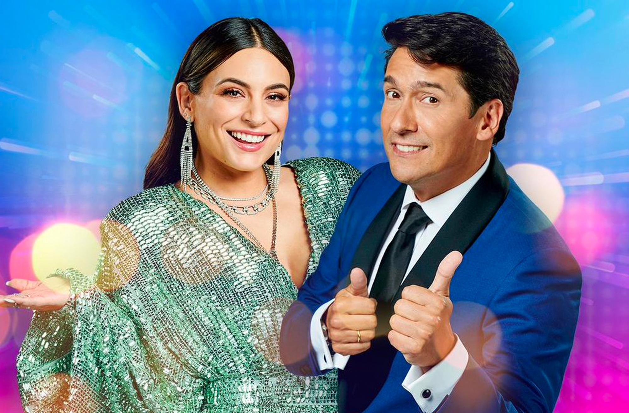 Ana Brenda Contreras y Rafael Araneda presentan 'Tu Cara Me Suena' en Univision.