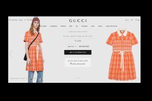 FOTO: El vestido anaranjado para hombres que Gucci vende en $2,600 dólares