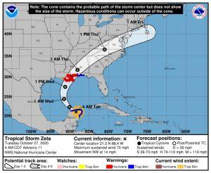 VIDEOS: Así impactó Zeta en la Península de Yucatán, seguirá su camino hacia EE.UU.