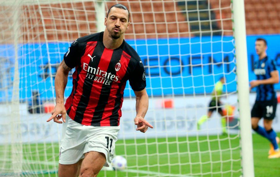 Zlatan es de otro mundo: Ibra se echó al hombro al Milan para derrotar al Inter en el Derbi