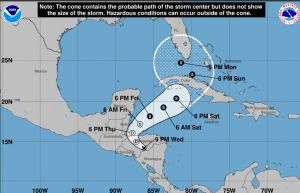 Tormenta Eta puede tomar fuerza de nuevo y amenazar a Florida