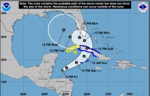 La depresión tropical Eta puede reorganizarse rumbo a Cuba y EE.UU.