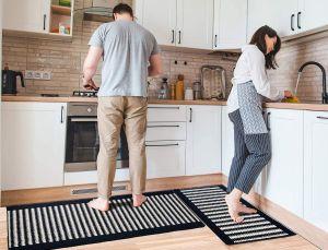 8 opciones de sets de alfombras para la cocina por menos de $50