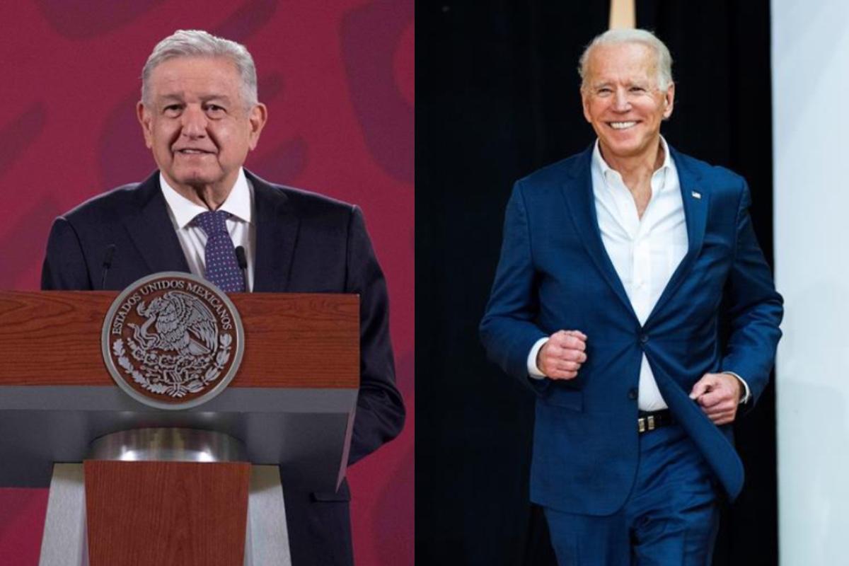 Biden y AMLO sostendrán una reunión virtual el próximo lunes