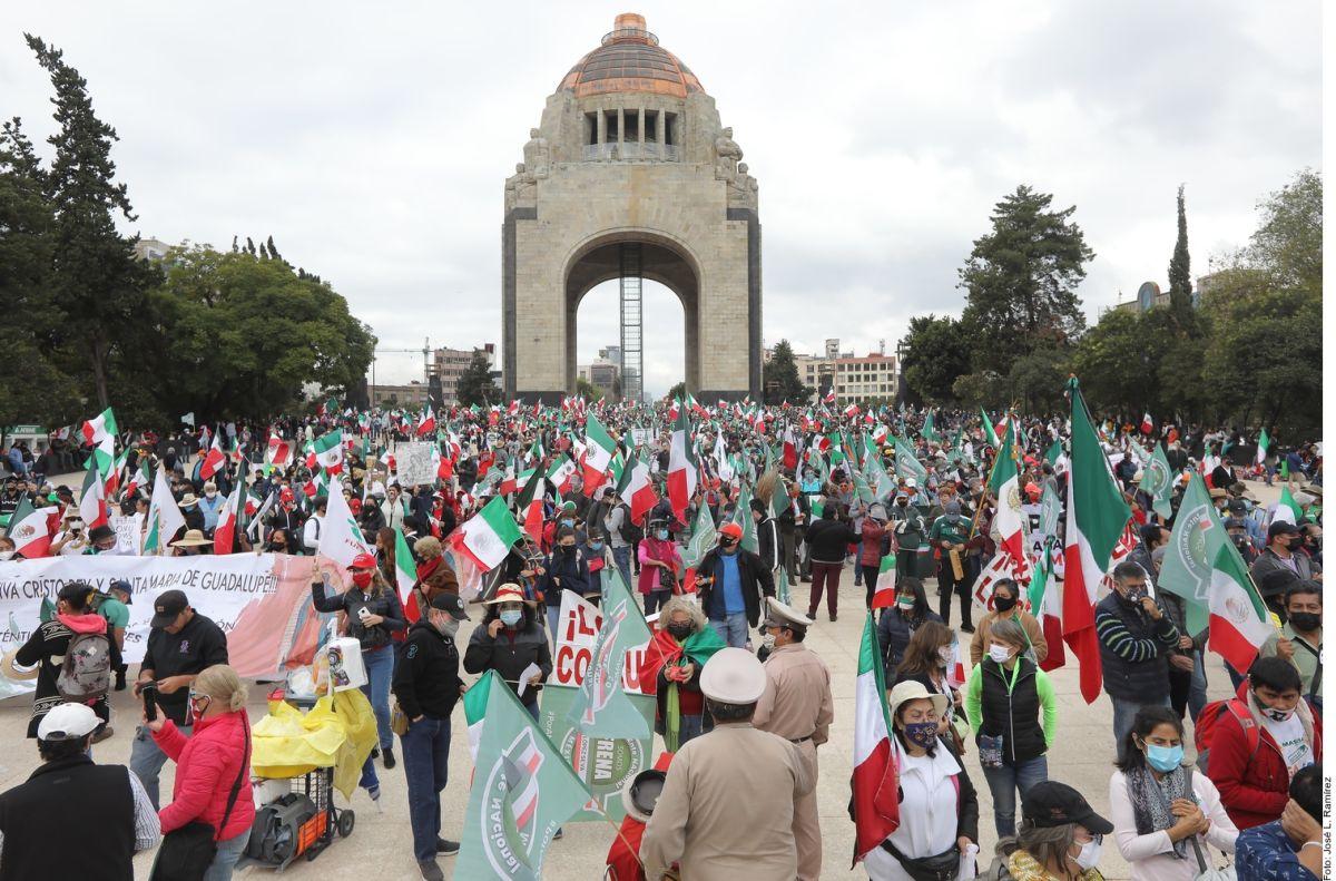 Movimiento anti AMLO amenaza con paro económico nacional