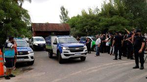 Registran la casa del chofer de Maradona: estaba en la casa cuando murió y no lo había notificado