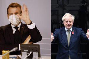 Boris Johnson y Emmanuel Macron felicitan a Biden, virtual presidente de los EE.UU.
