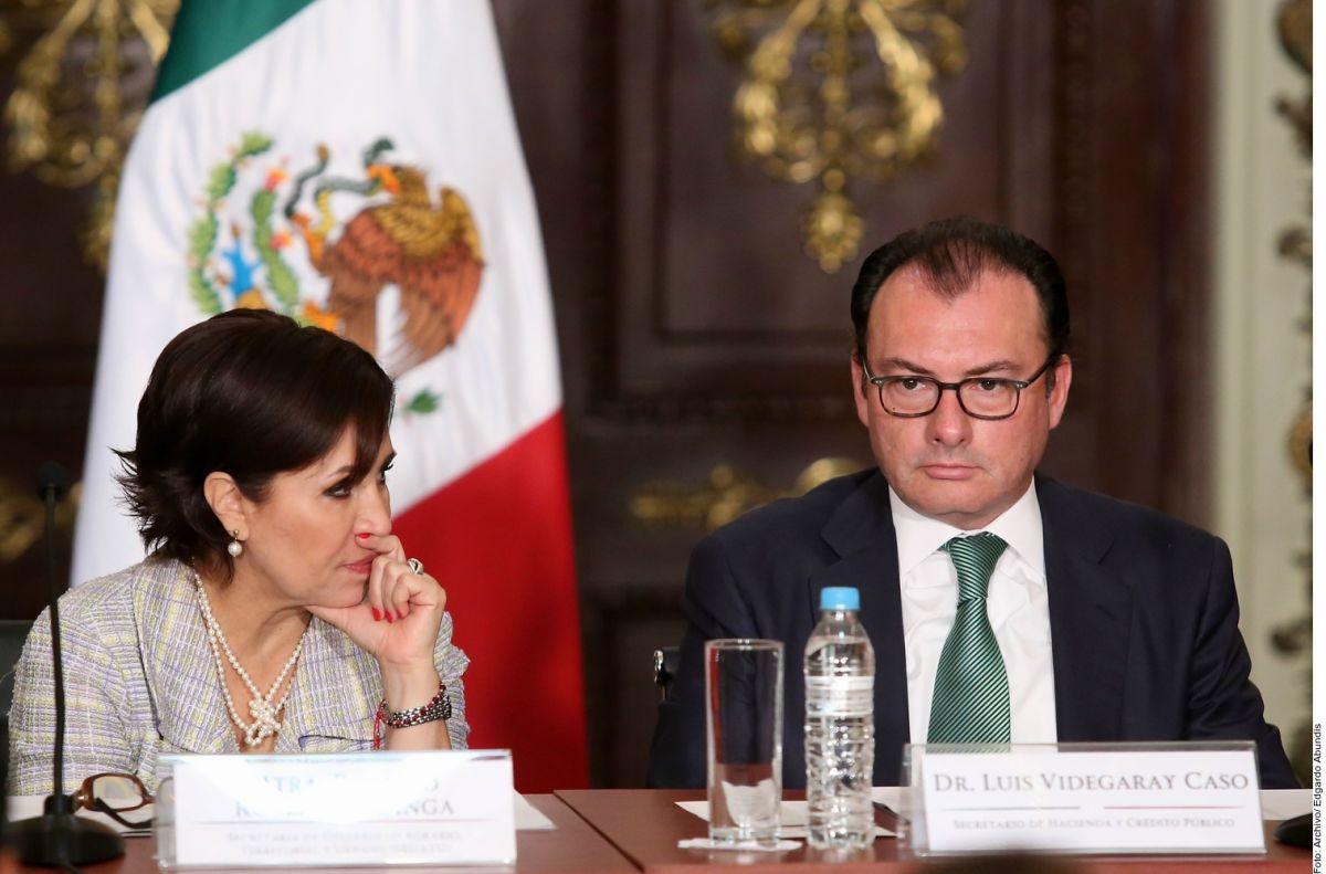 "Ex Secretario de Hacienda de México, Luis Videgaray, reta a Rosario Robles a ""probar mentiras"" sobre caso Estafa Maestra"